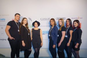 Rosenball 2018 Berlin, Catwalk Make-up-Team