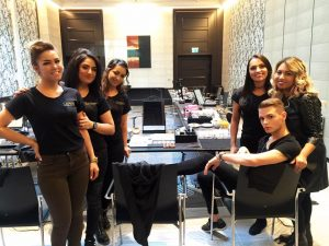 Catwalk Make-up Artitsts - Sportpresseball 2017
