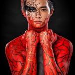 Catwalk Makeup Artist - Bodypainting Shooting 04.03.2016-96