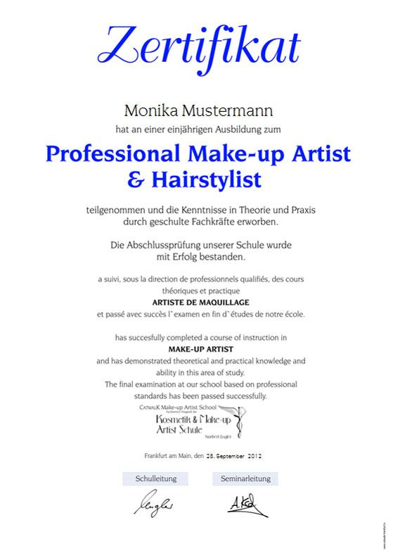 Make Up Artist School Catwalk Visagistenschule Mit Der
